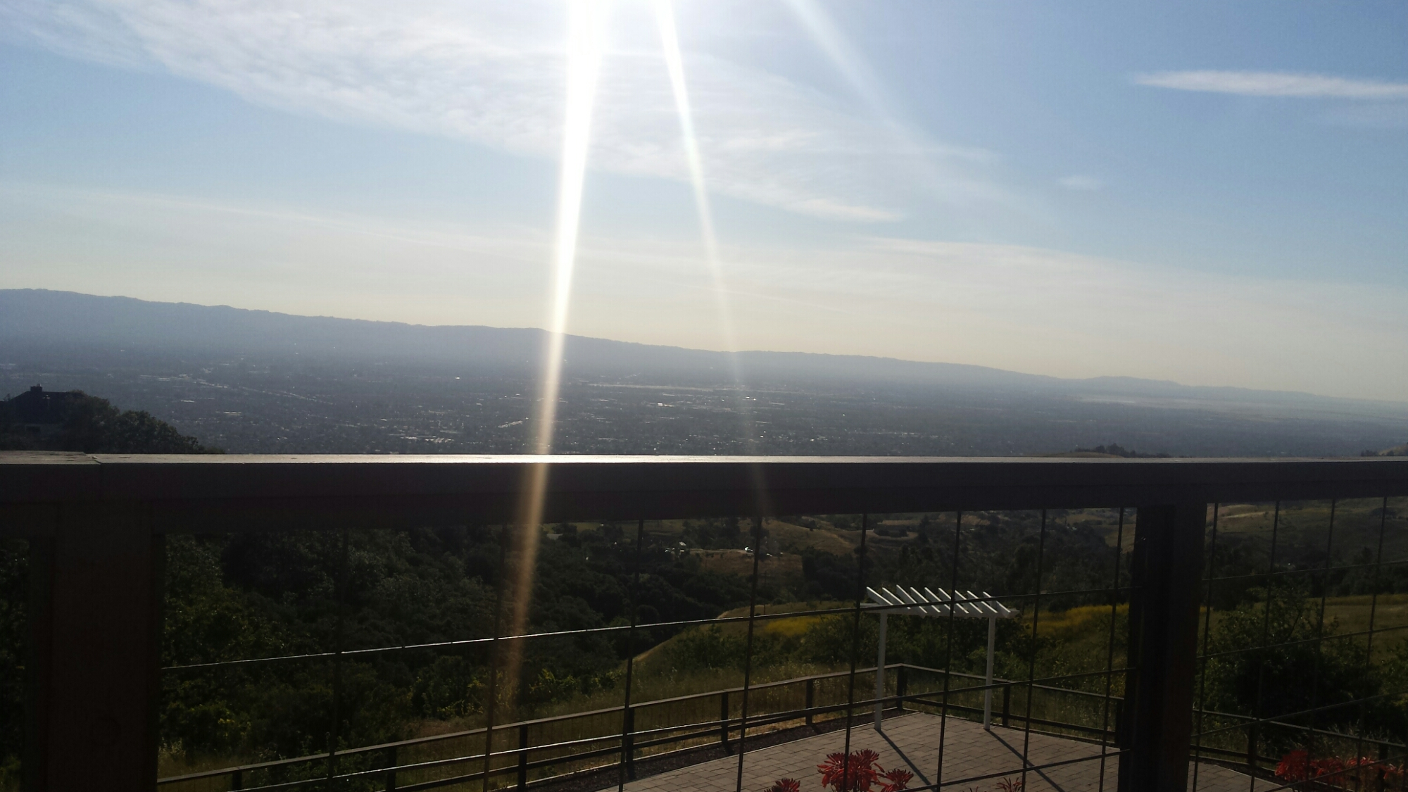 Mount Hamilton -GrandView Porch View