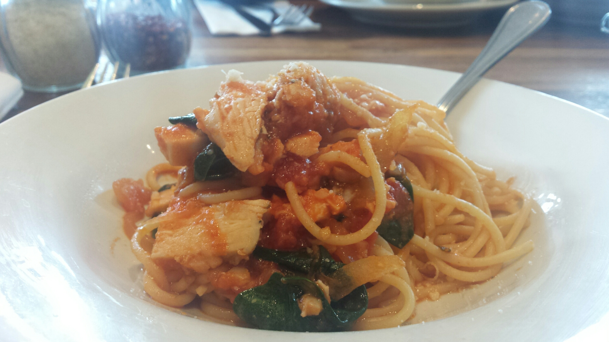 Chicken Spaghettini