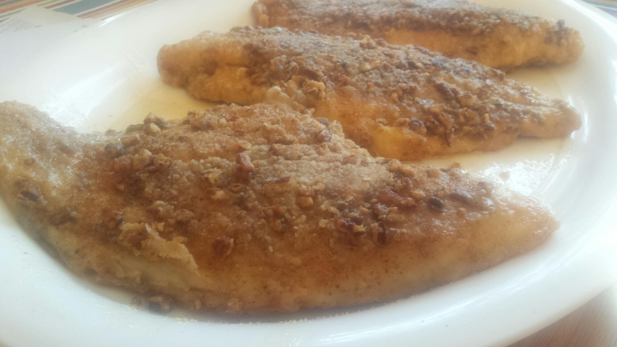 Pecan Crusted Catfish